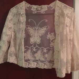 Lace Detailed Cover Up